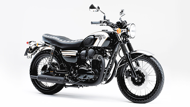 Kawasaki W800 Ready For Face Off With Royal Enfield Retro Bike