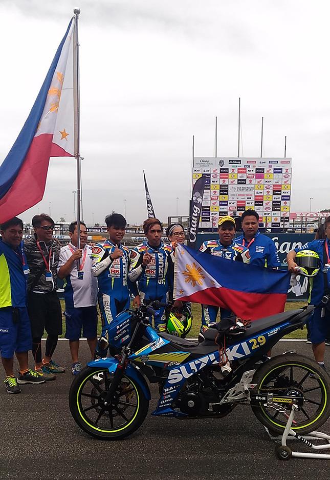 Three Way Chevrolet >> PH rider Mario Borbon wins the Suzuki Asian Challenge Race 2