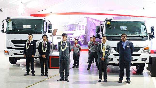 mitsubishi ph opens first fuso dealership, launches 2 new trucks