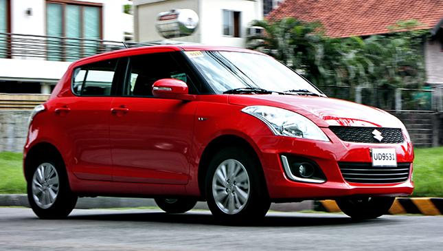 Review Suzuki Swift 12