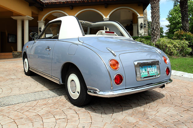 This rare Nissan Figaro is cuteness personified