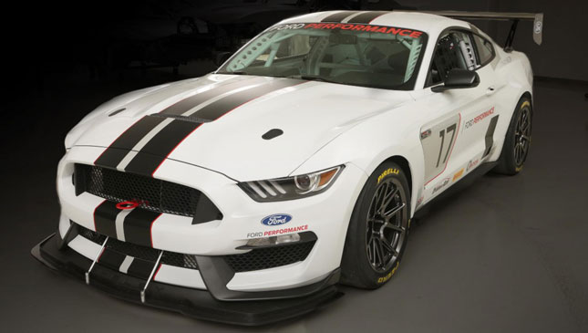 Ford Racing will sell you this wild track-only Shelby Mustang