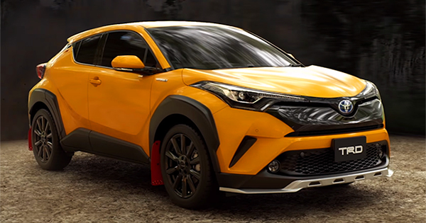 The Toyota C-HR's TRD variants look very badass