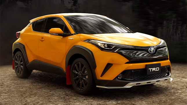 Toyota Chr Philippines >> The Toyota C Hr S Trd Variants Look Very Badass