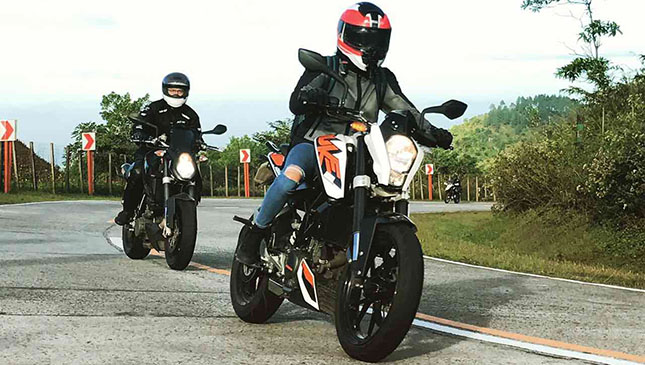 Lady Rider Shares Her Insights On The Ktm Duke 200