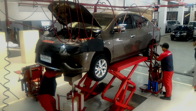 Nissan owners can now get their cars serviced in 30 minutes