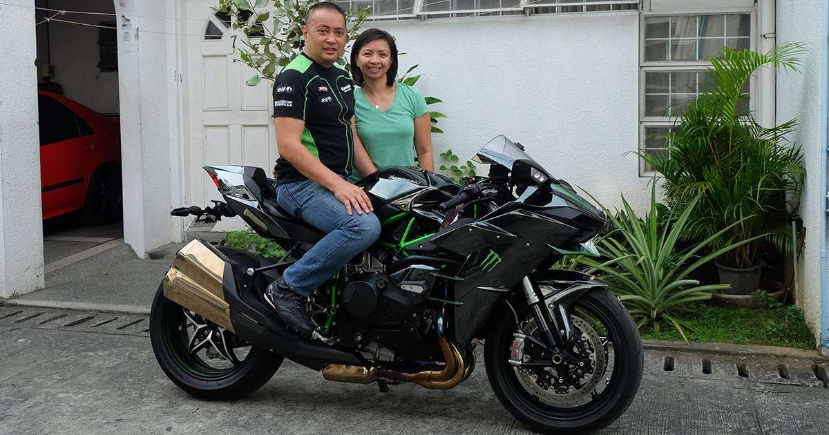 Kawasaki Ninja H2 Sport Bike Top Gear Philippines