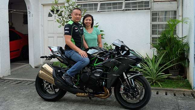 Cancer Patient Shares His Passion For Motorbikes