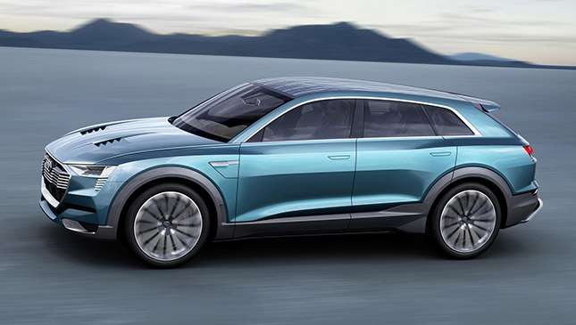 The Audi E Tron Fully Electric Suv Is Coming