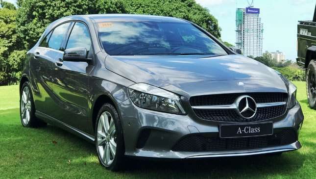 Mercedes philippines a class a180 urban is now available for Mercedes benz philippines price list