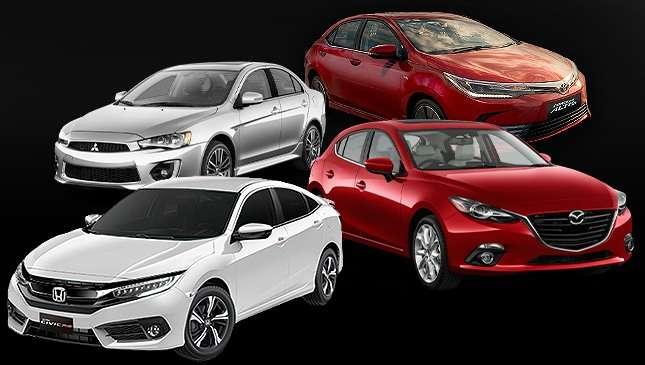 Honda Civic Vs. Mazda 3 Vs. Mitsubishi Lancer Vs. Toyota Altis | Feature  Articles | Top Gear Philippines