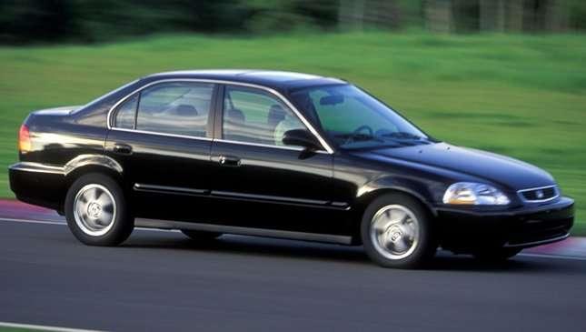 1995 honda civic lx sedan mpg
