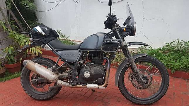 Royal Enfield Himalayan Steals The Limelight At Ironman