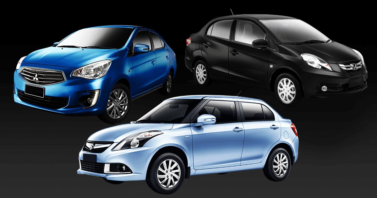 Summit City Chevrolet >> Mirage G4 vs. Swift Dzire vs. Brio Amaze | Feature Articles | Top Gear Philippines