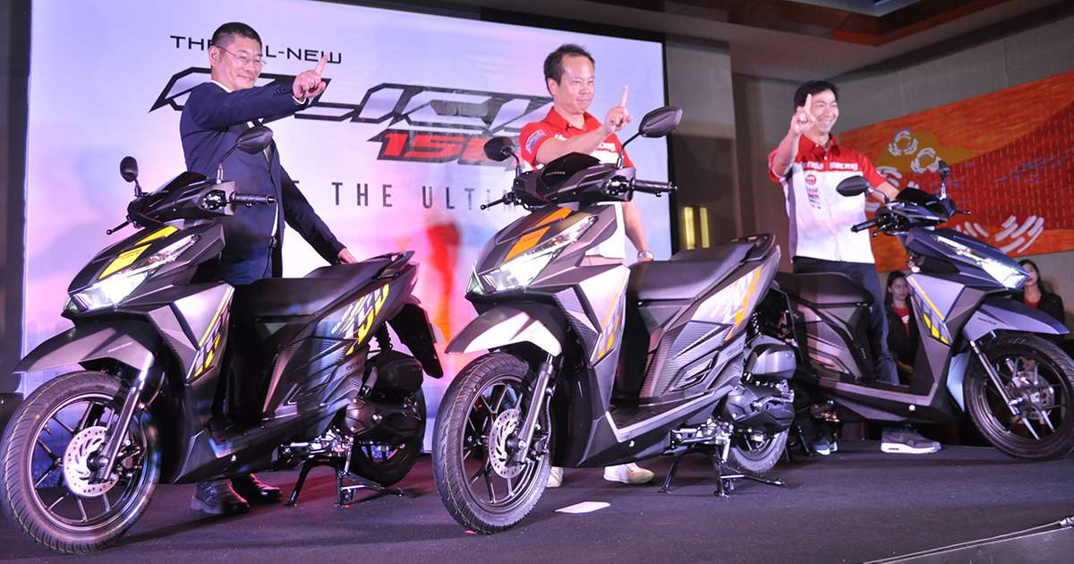 Honda Ph Launches New Click 150i Scooter Motorcyle News