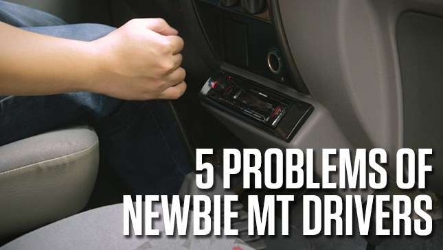 5 problems that newbie MT drivers can relate to