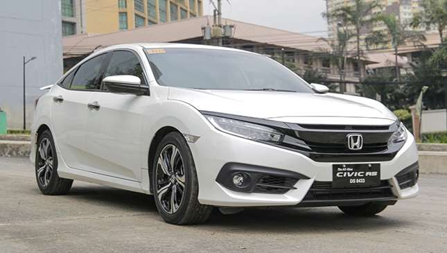 Honda civic rs turbo 2019