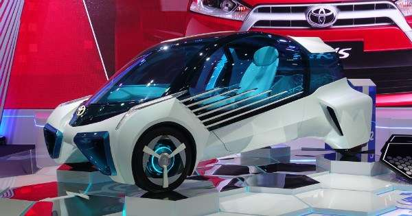 Is The Toyota Fcv Plus A K At Future