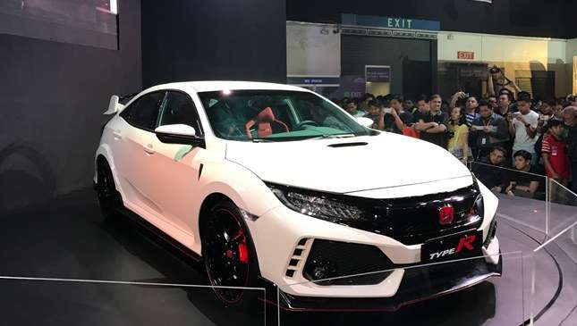 The first official Honda Civic Type R in the Philippines