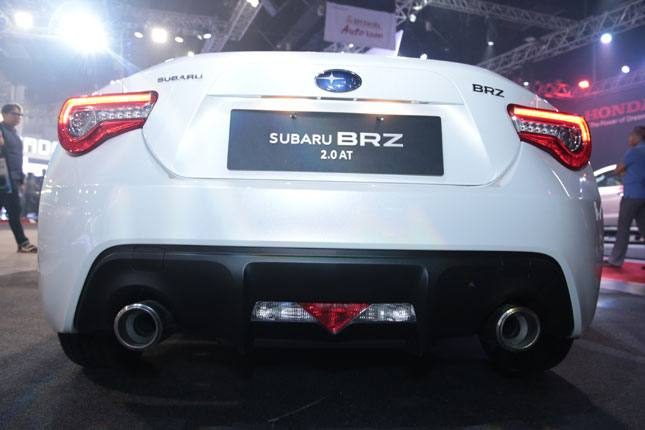 Refreshed Subaru BRZ