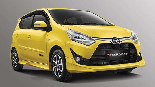 Toyota Wigo Trd New Images Of The City Hatch S Refreshed