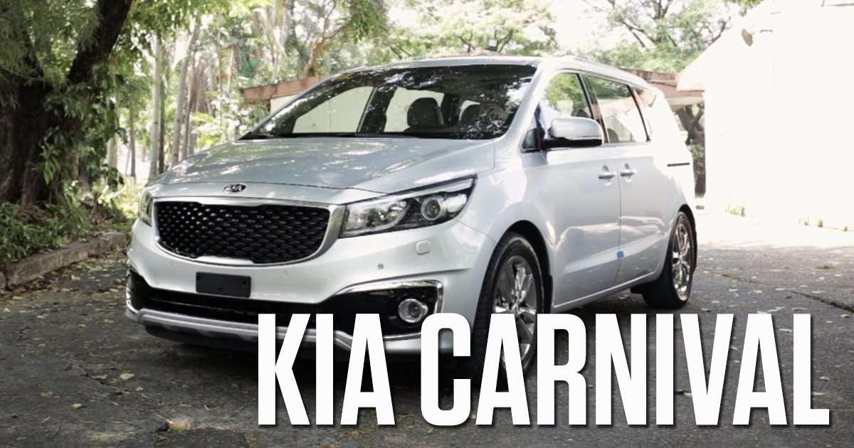 Kia Carnival Top Gear Philippines