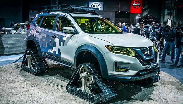 Our Favorite Displays At The New York International Auto Show