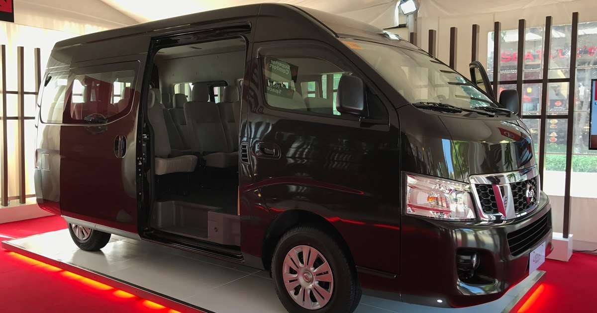 nissan urvan premium price specs  features car news top gear philippines