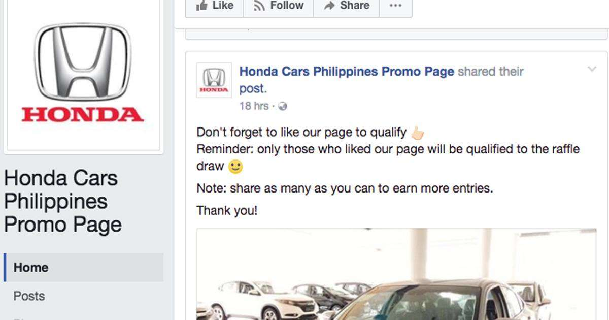 The Free Car Promos Are Potential Phishing Hoaxes
