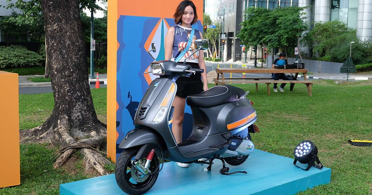 Vespa Philippines Enters Local Scooter Market At 125k