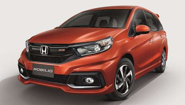The New Honda Mobilio Debuts In Thailand