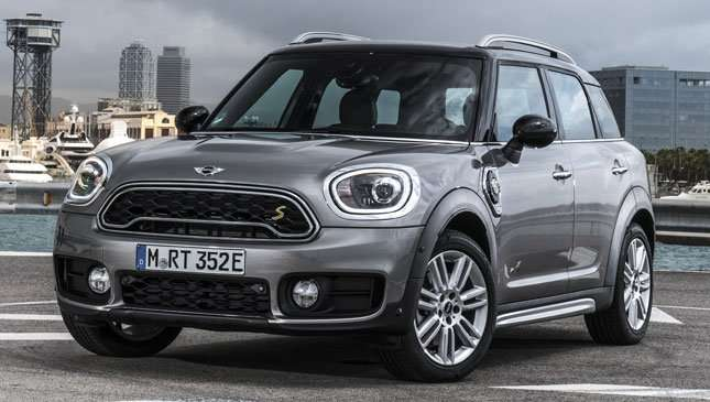 Mini S Plug In Hybrid Is Charged And Ready To Go