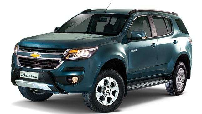 Chevrolet Trailblazer 4x2 LTX AT: new variant, new features