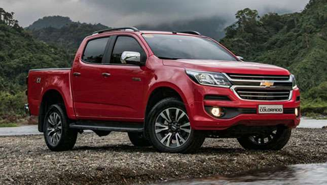 Own A Chevrolet Colorado For As Low As P108k All In Downpayment