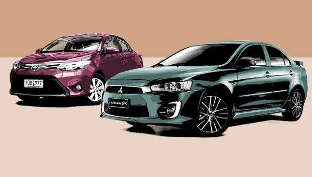 Should this reader go for the Toyota Vios, Honda City or Mitsubishi