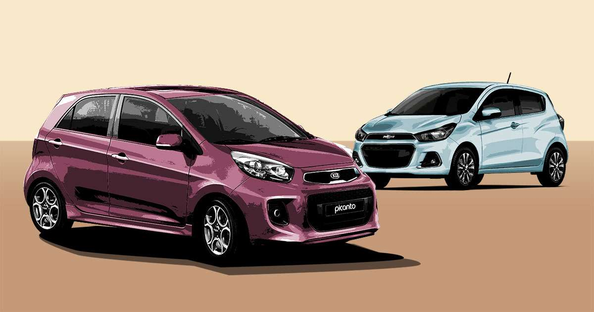 Kia Picanto Philippines 2017 >> What's the better hatch: The Kia Picanto or the Chevrolet Spark?