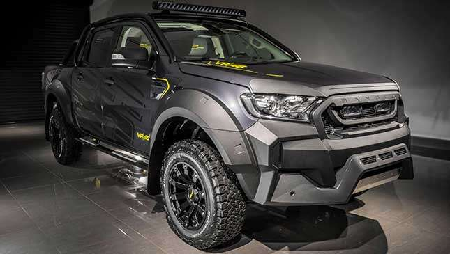 The Vr46 Ford Ranger Is Valentino Rossis Aftermarket Creation