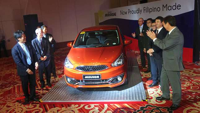Mitsubishi Mirage made in the Philippines