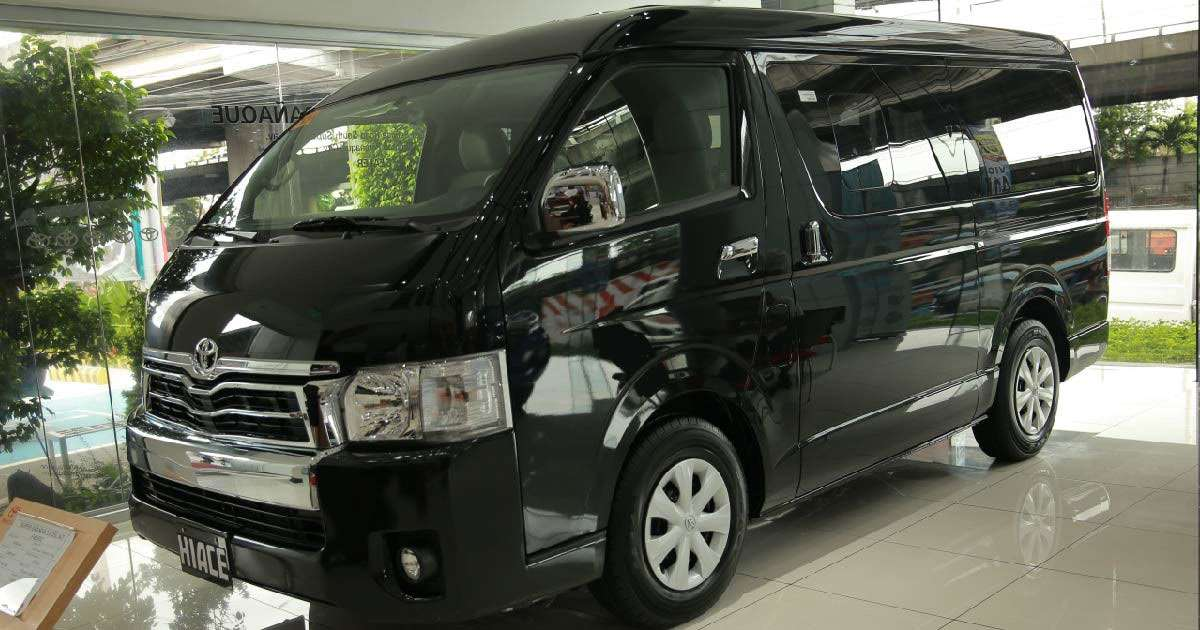 Toyota Hiace Super Grandia Top Gear Philippines