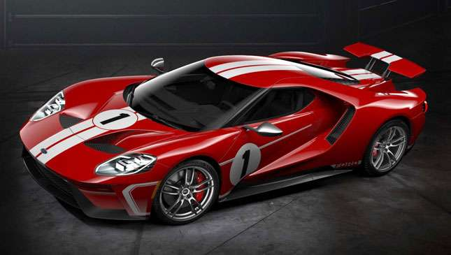 The  Ford Gt Is Available In  Le Mans Colors Car News Top Gear Philippines