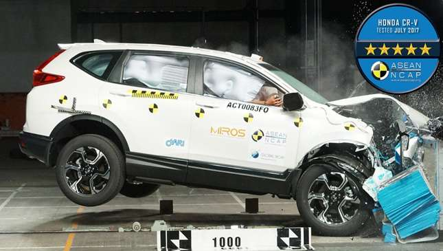 Great All New Honda CR V Receives 5 Star ASEAN NCAP Safety Rating | Car News |  Top Gear Philippines