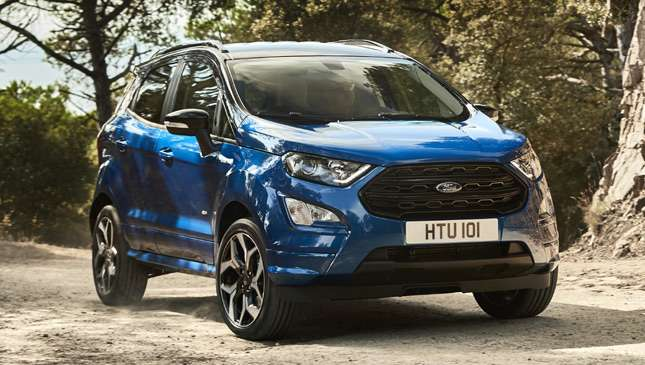 The Refreshed Ford Ecosport Has A Sporty Variant In Europe