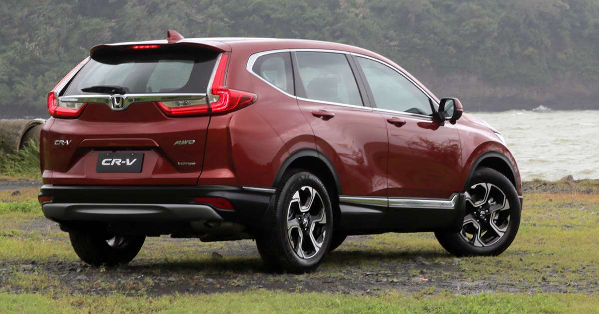 The all new honda cr v will give its diesel competition for Honda crv competitors