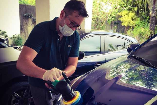 how to remove acid rain marks from your car s paint