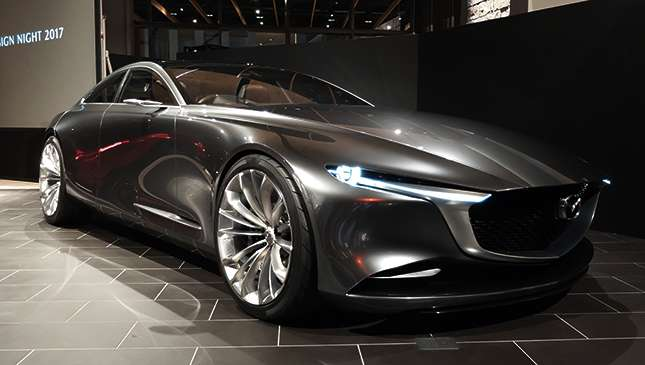 the mazda vision coupe might be the sexiest concept car of 2017. Black Bedroom Furniture Sets. Home Design Ideas