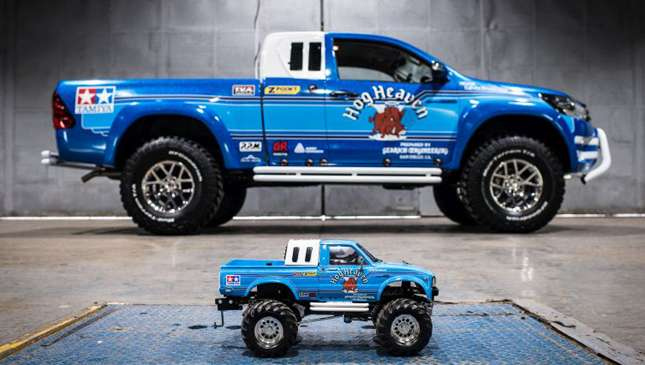 Toyota Just Supersized The Tamiya Bruiser From The 80s