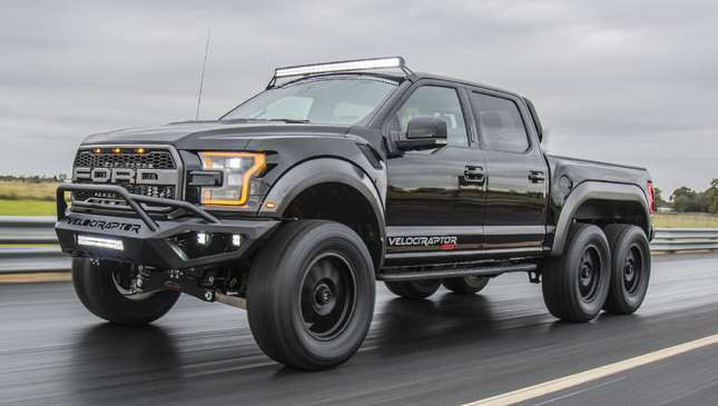 The Hennessey Peformance Velociraptor Is A 6x6 Masterpiece