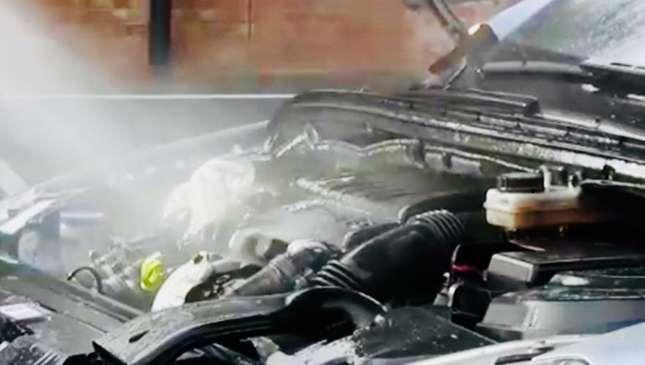 engine wash  engine detail