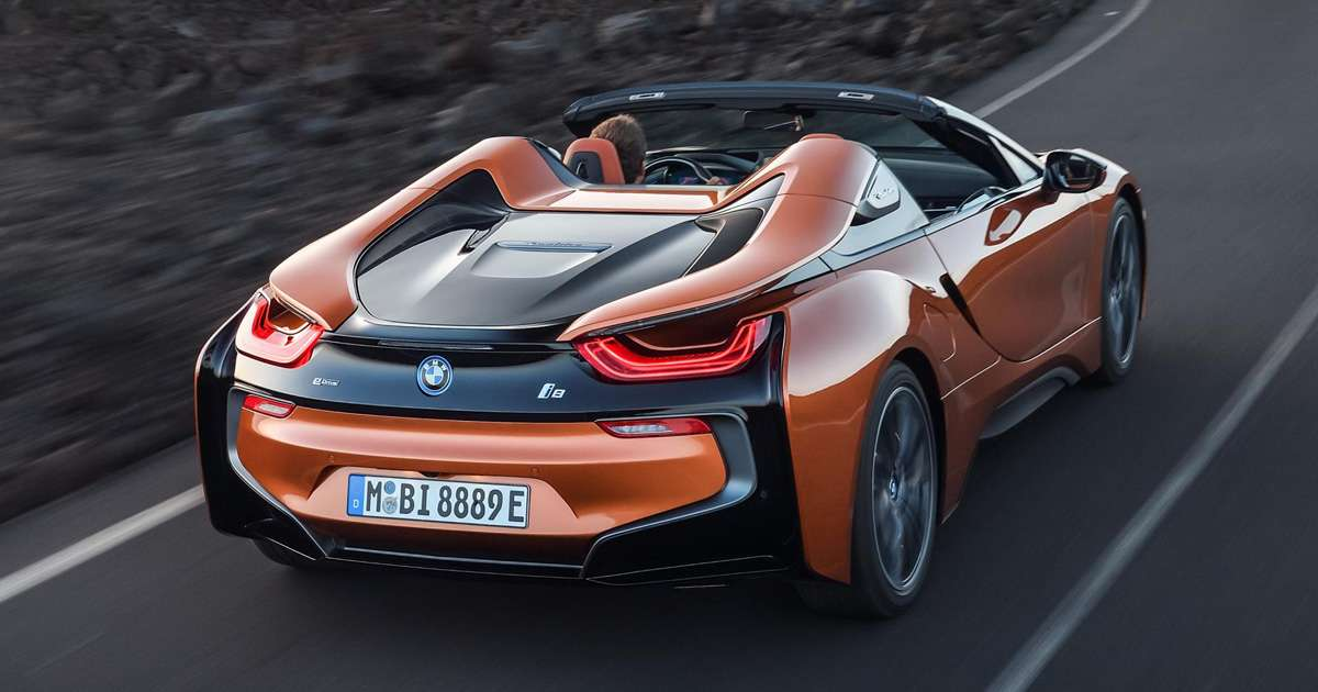 Bmw I8 Roadster Top Gear Philippines