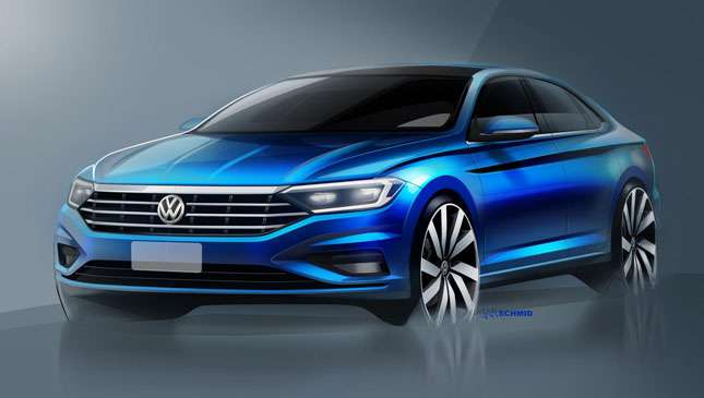 Beautiful This Is What The All New Volkswagen Jetta Will Look Like
